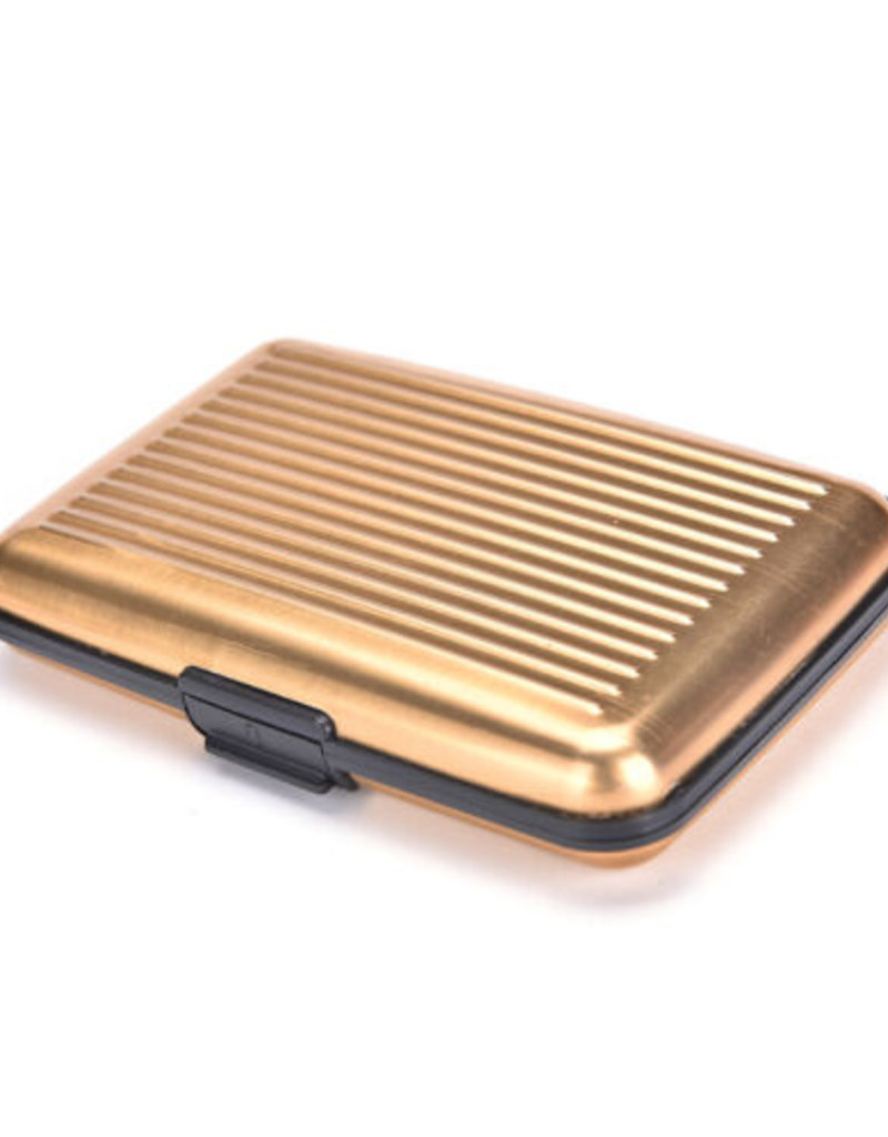 HOLIDAY GROUP AH66AW01 ABS RFID CARD HOLDER GOLD #