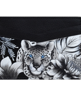 ANUSCHKA CREDIT CARD CASE HAND PAINTED ASSORTED COLOURS
