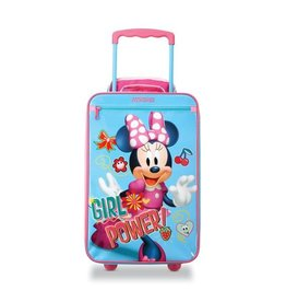 DISNEY DISNEY MINNIE/ MICKEY UPRIGHT CARRY-ON