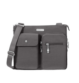 BAGGALLINI CHARCOAL EVERYTHING BAG