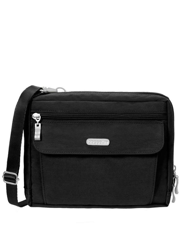 BAGGALLINI WAN839 BLACK WANDER BAG FASHION
