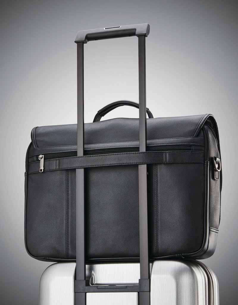 SAMSONITE SAMSONITE CLASSIC LEATHER FLAPOVER 126040