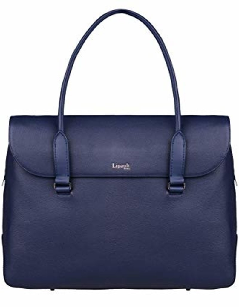 LIPAULT LIPAULT PLUME ELEGANCE LEATHER LAPTOP TOTE 90835