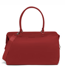 LIPAULT LIPAULT RED WEEKEND M BAG