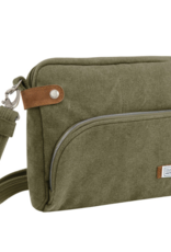 TRAVELON 33071 ANTI THEFT CROSSBODY SAGE