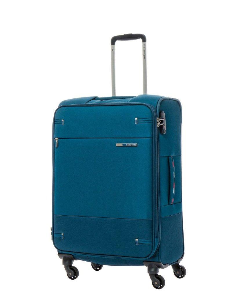 SAMSONITE 792017967 PETROL BLUE MEDIUM SPINNER  BASE BOOST
