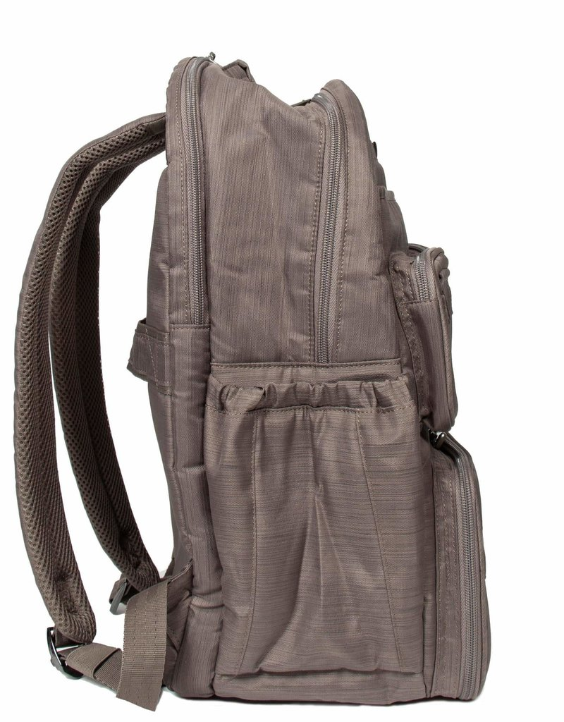 LUGLIFE PUDDLE JUMPER BACKPACK BRUSHED WALNUT