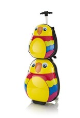 """TRAVEL TOTS  PARROT SET LUGGAGE 18"""" WITH BACKPACK"""