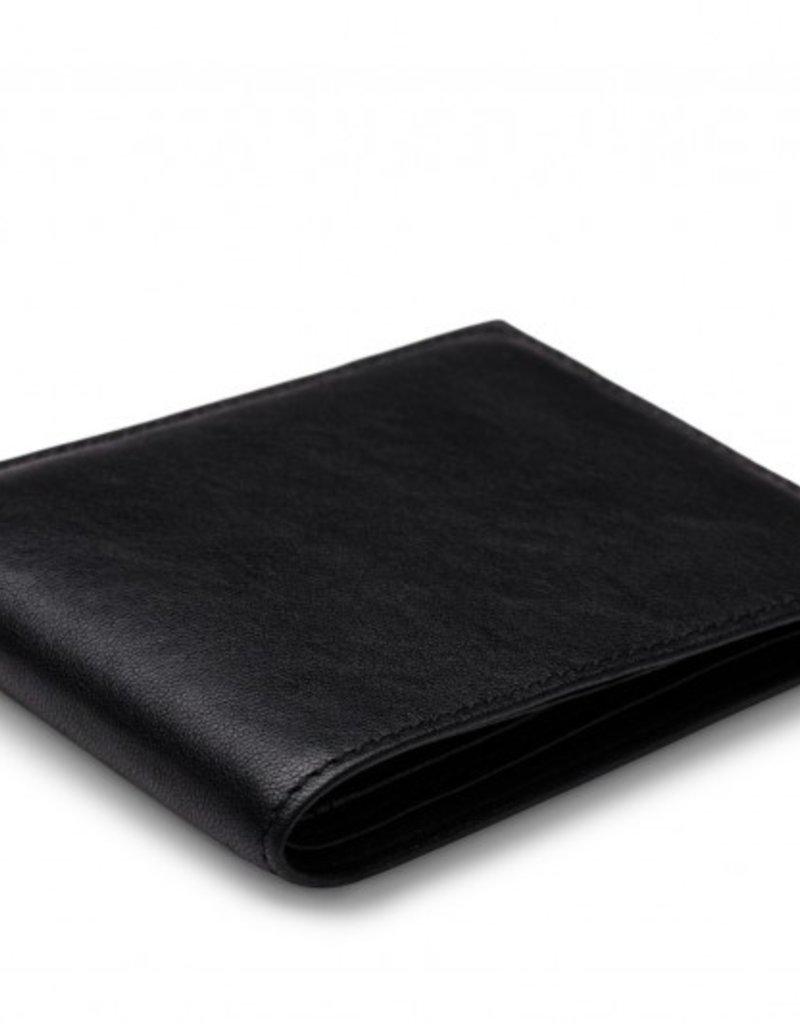 BOSCA 95-150 RFID BLACK LEATHER NAPOLI WALLET
