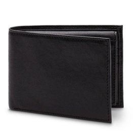 BOSCA CREDIT WALLET W/I.D. PASSCASE - RFID BLOCKING BLACK