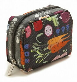 LESPORTSAC SQUARE COSMETIC LESPORTSAC ASSORTED PRINTS