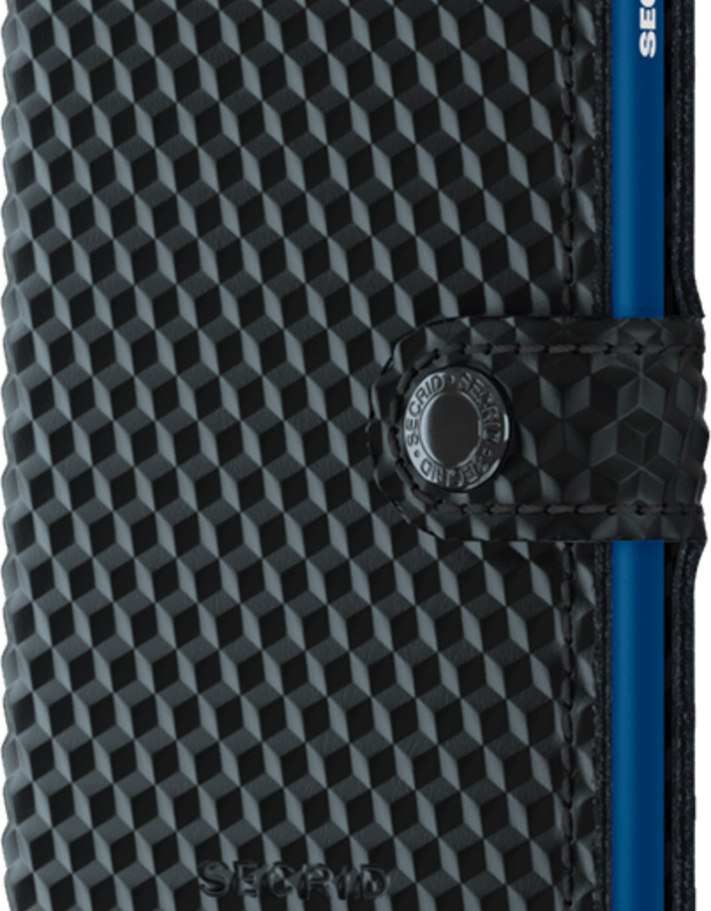 SECRID SECRID MINIWALLET CUBIC BLACK