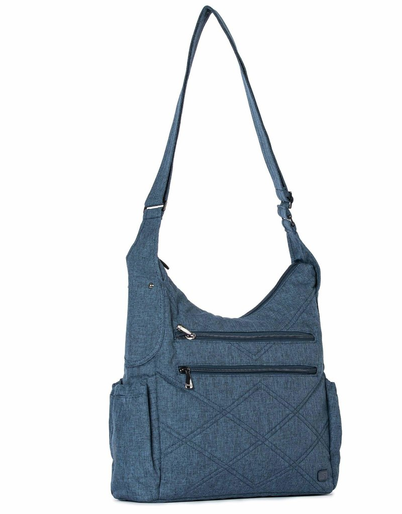 LUGLIFE CABLE CAR 2 HEATHER NAVY RFID