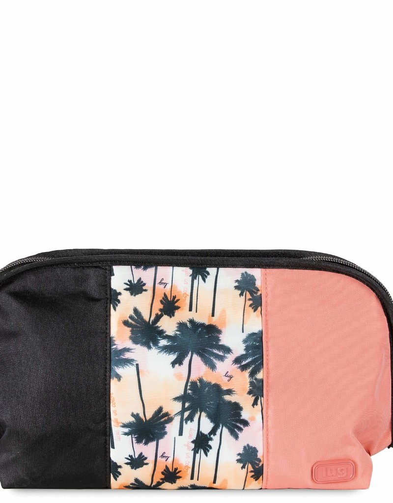 LUGLIFE FLASH TOILETRY BAG PALM SUNSET