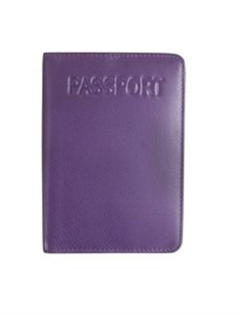 ILI 7501 RFID LEATHER PASSPORT COVER