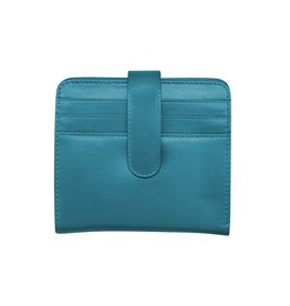 ILI LEATHER COMPACT WALLET RFID BLOCKING ASSORTED COLOURS
