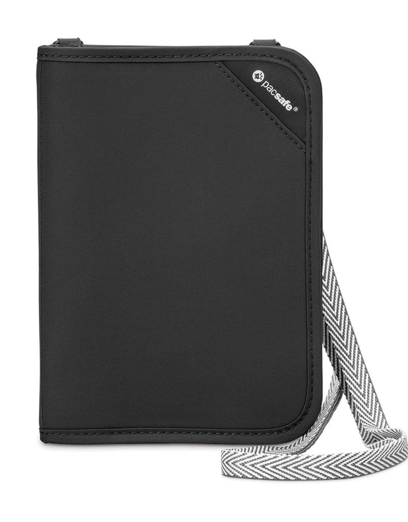 PACSAFE RFIDSAFE V150 BLACK ORGANIZER V10561100