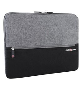 "SWISS GEAR SWC0127 14"" COMPUTER SLEEVE BLACK/GREY"
