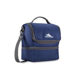 SAMSONITE DOUBLE DECKER LUNCH BAG BLUE