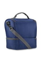 SAMSONITE HIGH SIERRA DOUBLE DECKER LUNCH BAG BLUE 747134515