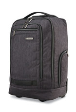 SAMSONITE SAMSONITE CONVERTIBLE WHEELED BACKPACK CHARCOAL HEATHER MODERN UTILITY  1264435794