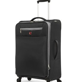SWISS GEAR SWISSGEAR EXTRA LITE  24-INCH EXPANDABLE SPINNER BLACK