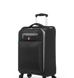 SWISS GEAR SWISSGEAR EXTRA LITE COLLECTION CARRY-ON SPINNER BLACK
