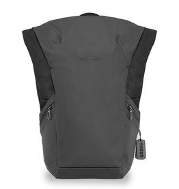 BRIGGS & RILEY DV180-4 BLACK LARGE ROLLTOP BACKPACK