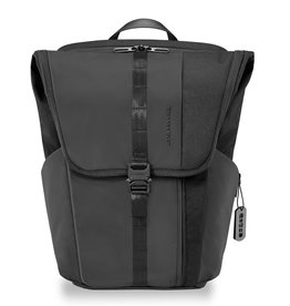 BRIGGS & RILEY DV170-4 BLACK LARGE FOLD OVER BACKPACK