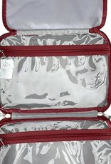 BAGGALLINI TRC107 WAVE PRINT COSMETIC BAG