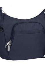TRAVELON 42757 MIDNIGHT ANTI THEFT CLASSIC CROSSBODY BUCKET BAG