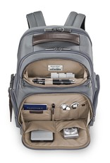 BRIGGS & RILEY KP426-10 GREY MEDIUM CARGO BACKPACK