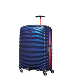 SAMSONITE SAMSONITE LITE-SHOCK SPORT MEDIUM SPINNER BLUE/RED