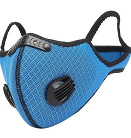 BRIGHT SAFE CARE FACE MASK WITH  VENTS & FILTER X2 PERFORMANCE