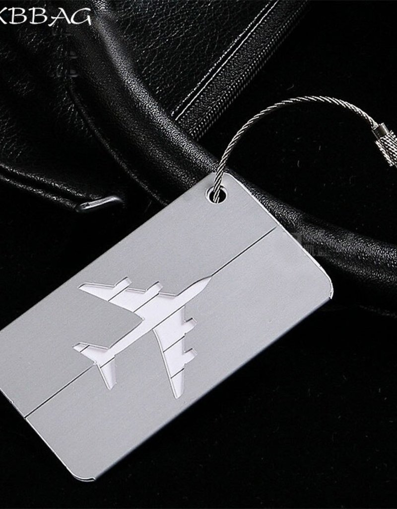 ALUMINUM AIRPLANE ID TAG