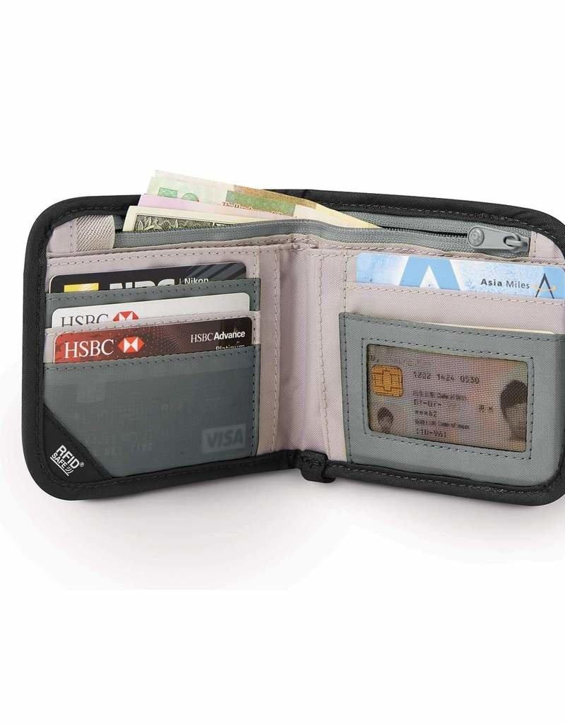 PACSAFE RFIDSAFE V100 RFID BLOCKING BIFOLD WALLET10556129