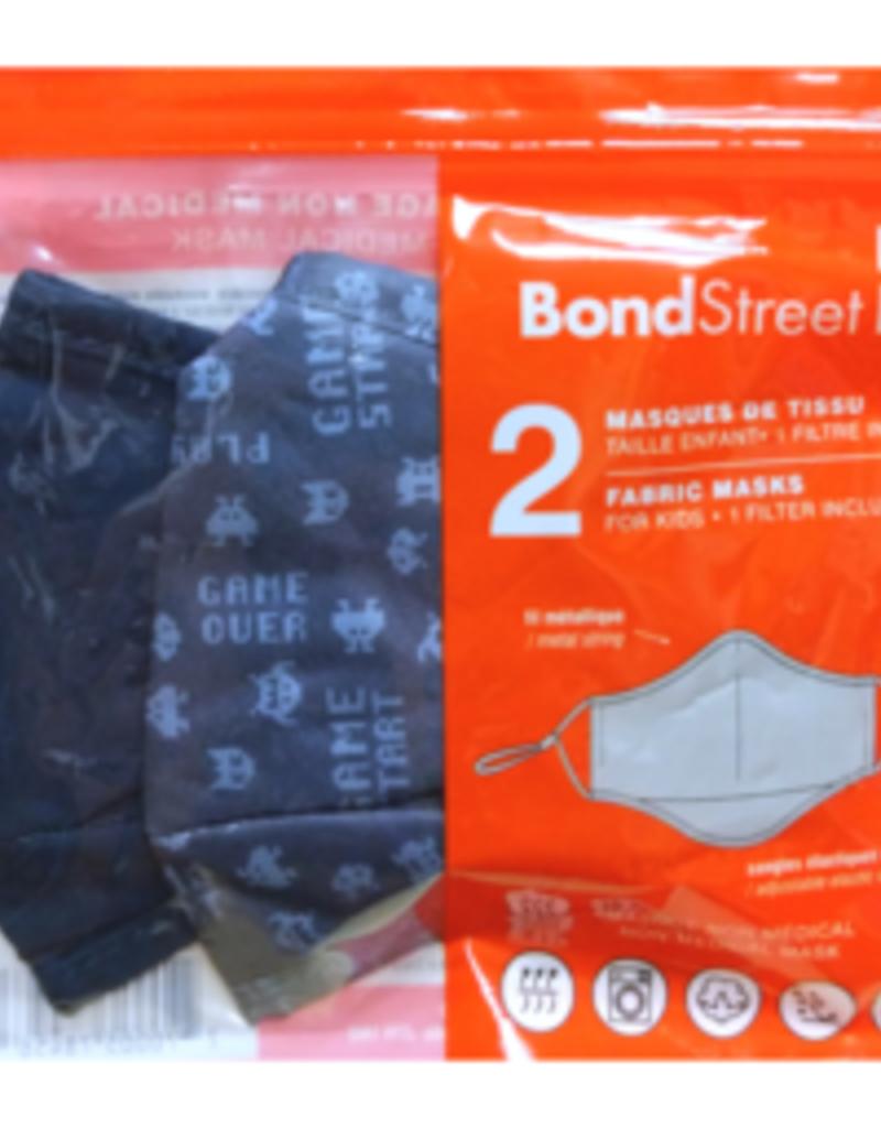 BOND STREET ADULT FACE MASK TAC5115BS 100% COTTON (2)