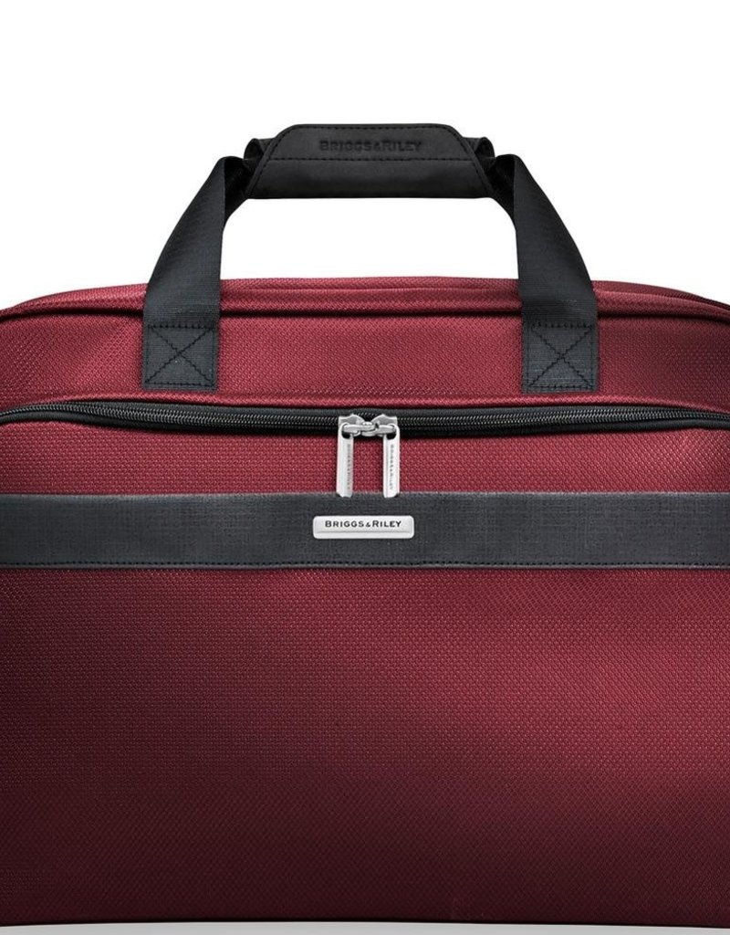 BRIGGS & RILEY CLAMSHELL CABIN BAG TD441- 46 MERLOT