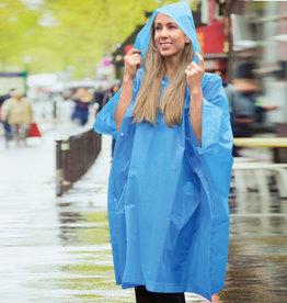 TRAVELON RAIN  PONCHO ONE SIZE FITS ALL BLUE TRAVELON