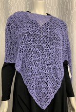 SHARANEL SHARANEL SHORT KNIT CAPLET BUBBLE BOHO LAVENDER 101