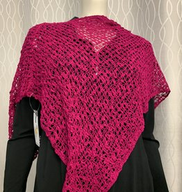 SHARANEL 101 BUBBLE BOHO CAPLET FUSCIA