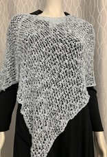 SHARANEL SHARANEL SHORT KNIT CAPLET BUBBLE BOHO LIGHT GREY 101