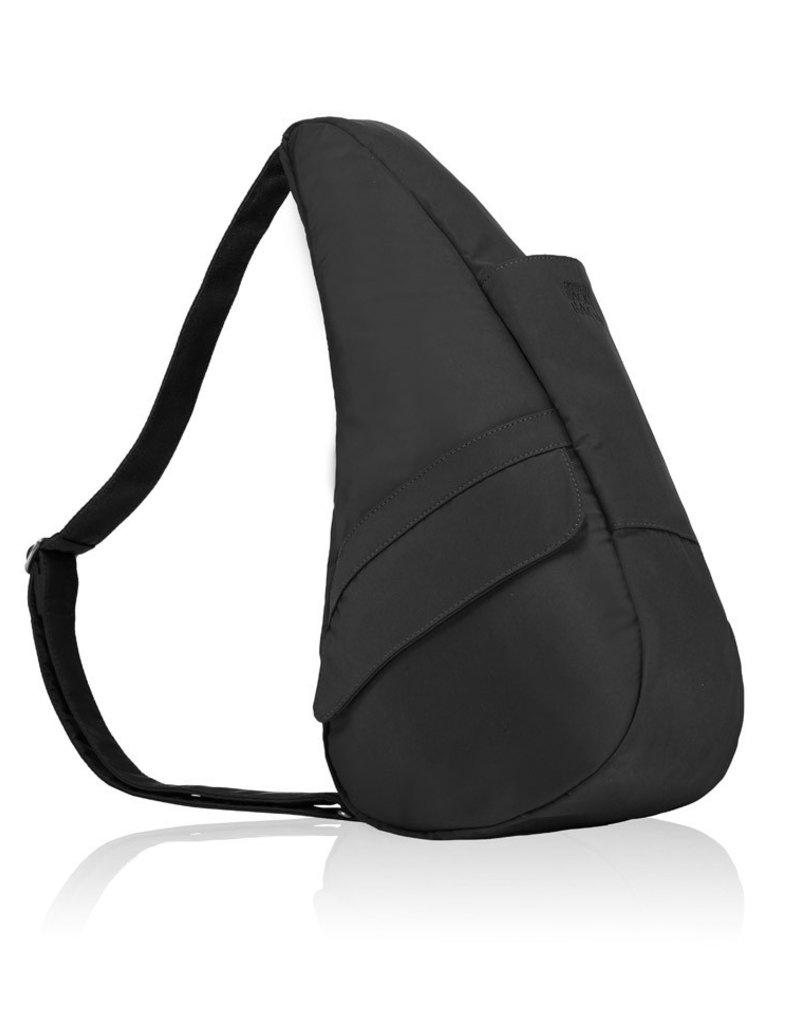 AMERIBAG 7103  SMALL BLACK MICROFIBER HEALTHY BACK BAG