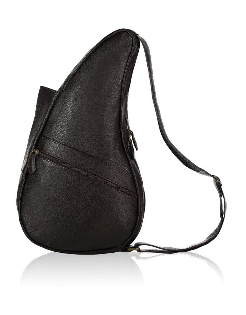 AMERIBAG 5102 BLACK EXTRA SMALL LEATHER HEALTHY BACK BAG