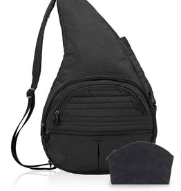 AMERIBAG AMERIBAG EXTRA LARGE HEALTHY BACK CARRY ALL BLACK