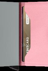 SECRID MINIWALLET RFID CRISPLE PINK