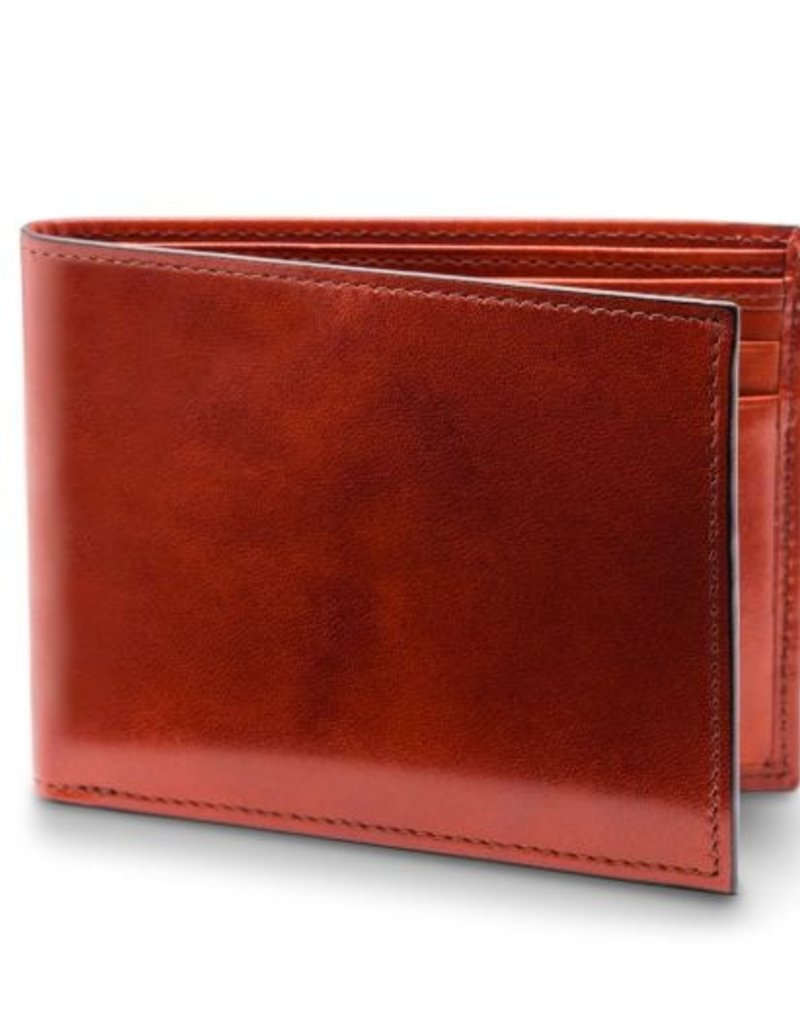 BOSCA 95-32 COGNAC RFID OLD LEATHER RFID EXECUTIVE ID WALLET