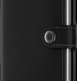 SECRID SECRID MINIWALLET RFID ORIGINAL BLACK LEATHER