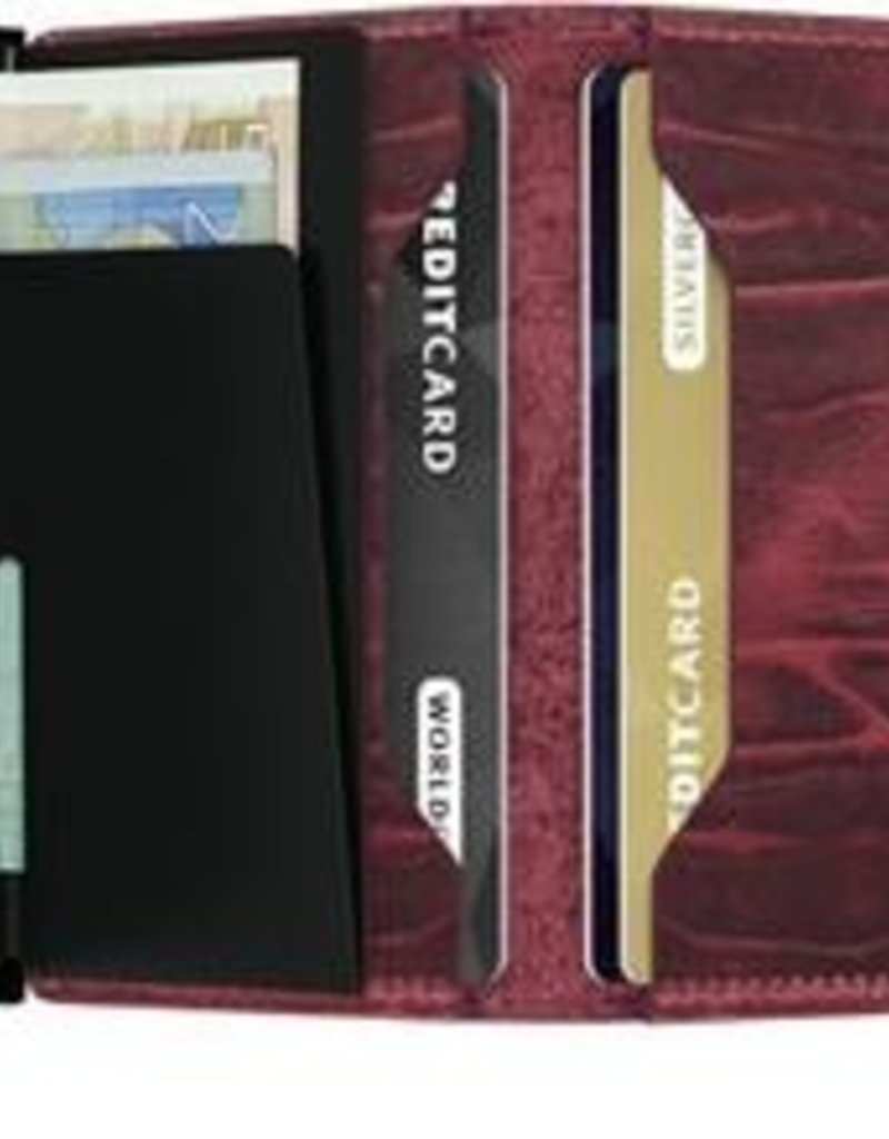 SECRID SLIMWALLET RFID DUTCH BORDEAUX
