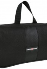 SWISS GEAR SWT0579 BLACK TRIFOLD TOILETRY BAG